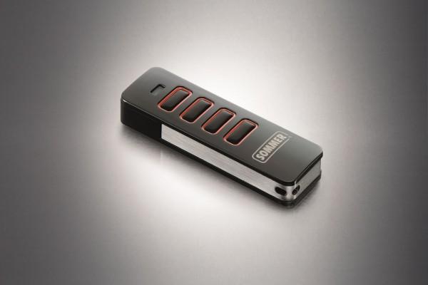 Sommer Handsender - PEARL VIBE mit Vibration - 4019V000 - 4Befehl - FM 868,95MHZ