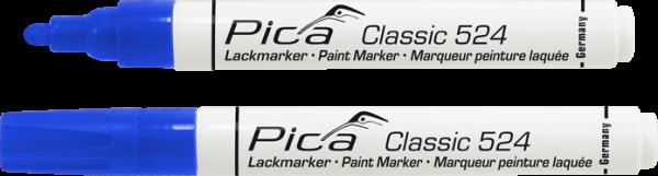 Pica Classic - Industrie Lackmarker - blau - 524/41