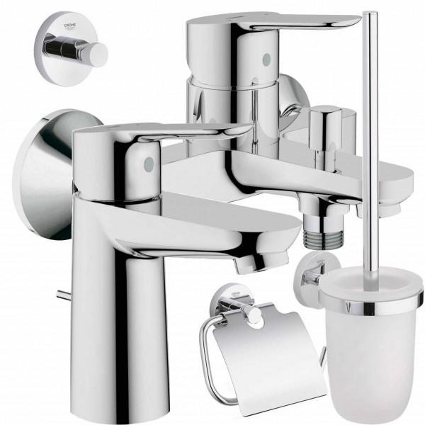 GROHE Armatur Set Wanne Becken WC Set BauEdge 23328 - 23334 - 40407