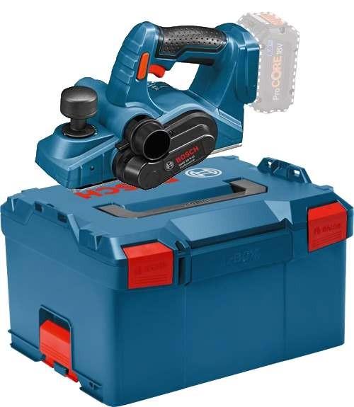 Bosch Akku Hobel GHO 18 V-LI Professional - L-BOXX 238 - SOLO