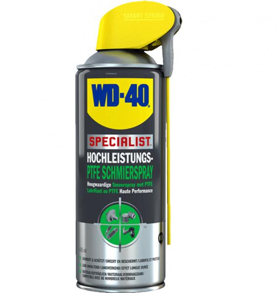 WD-40 WD40 Specialist Hochleistungs-PTFE-Schmierspray - 400ml Sprühdose