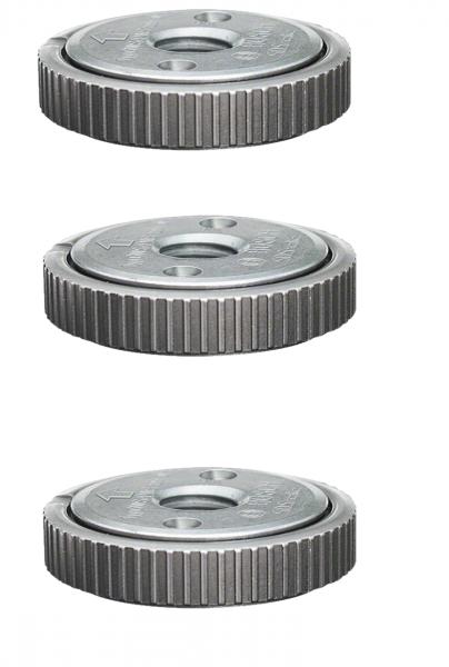3x Bosch Professional Schnellspannmutter SDS-Clic Gewinde M14