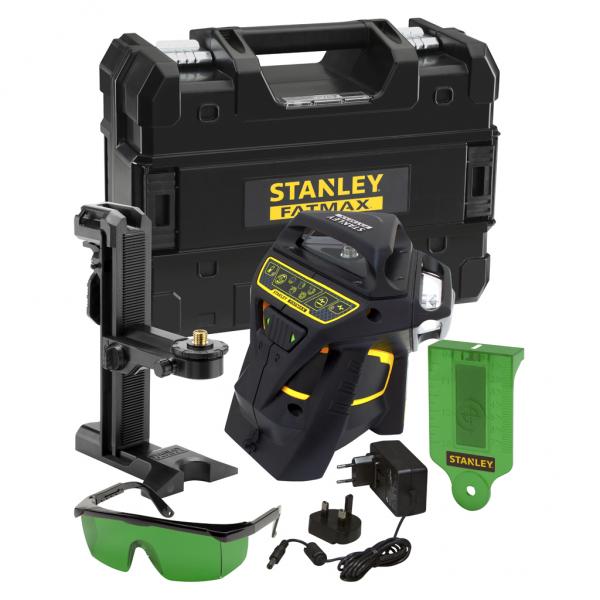 Stanley Multilinienlaser FMHT1-77356 FatMax X3G - grün - 3x 360 Grad