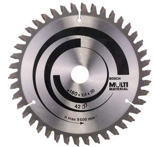 Bosch Multi Material Kreissägeblatt - 160x20x2,4mm - 42 Zähne