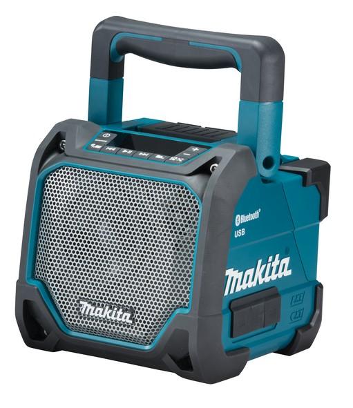 Makita Akku-Bluetooth-Lautsprecher DMR202 - 14,4V-18V + Steckernetzteil