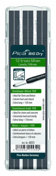 Pica BIG Dry - Steinhauer-Minen 10H - 6055