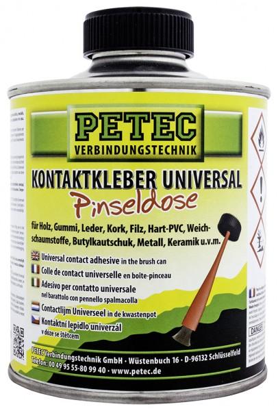 Petec 93935 Kontaktkleber Universal - 350ml - Pinseldose - universell