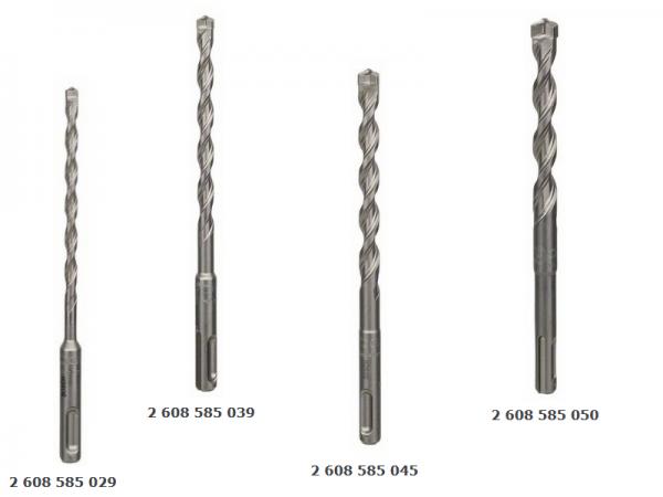 Bosch SDS Bohrer-Set 4-teilig 6/8/10/12 mm