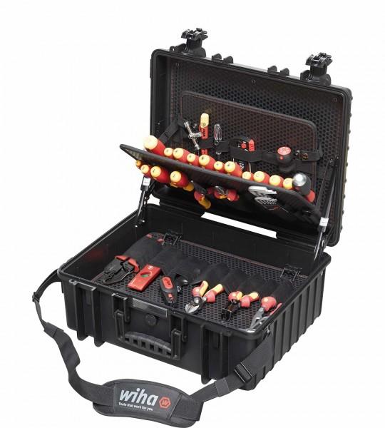 Wiha Werkzeugkoffer Werkzeug 40523 Elektriker Competence XL II - 80-teilig - 13kg