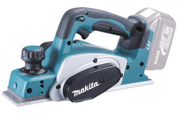Makita Akku Hobel DKP180Z - 82mm Hobelbreite 9mm Falz - ohne Akku/Ladegerät