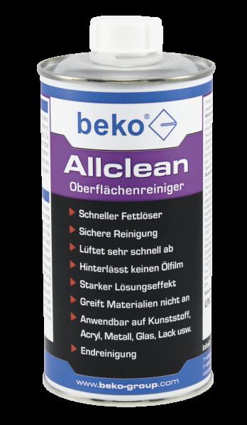 Beko Oberflächenreiniger Allclean Reiniger - 500ml - 2661200500