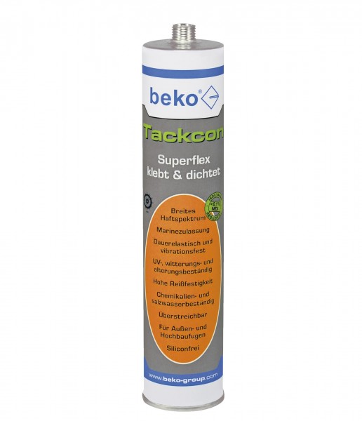 Beko Tackcon Shore 45 Superflex - grau - 310ml - 1K Hightec Kleber