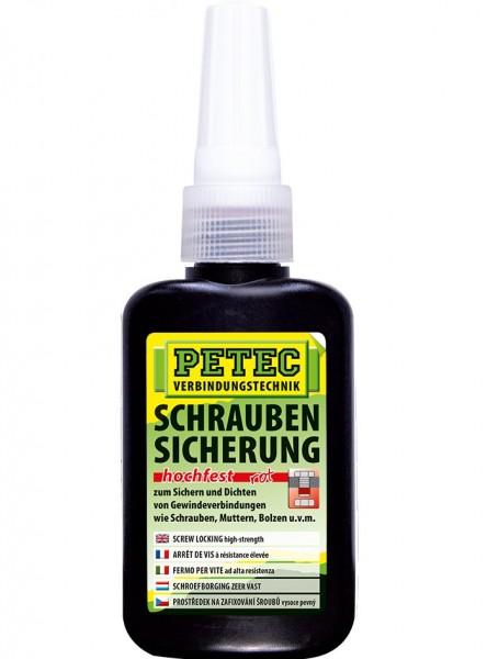 Petec Schraubensicherung - hochfest - 50 gramm - Flasche - 92050