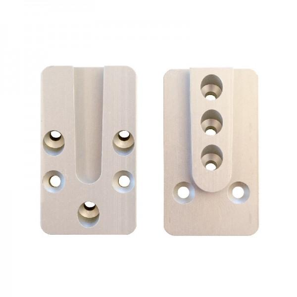 Pitzl Verbinder HVP 88107.0000 - für 10 Schrauben aus eloxiertem Aluminium