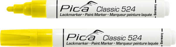 Pica Classic - Industrie Lackmarker - gelb - 524/44