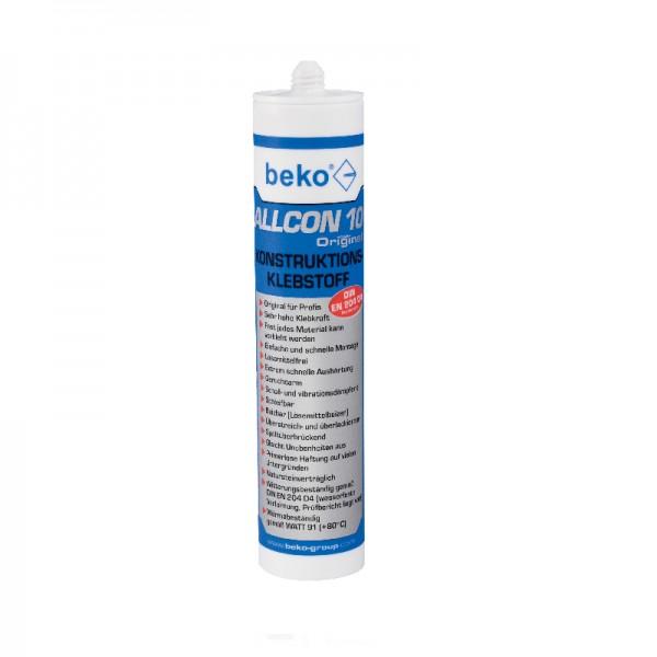 2x Beko Allcon 10 Konstruktionsklebstoff 310ml