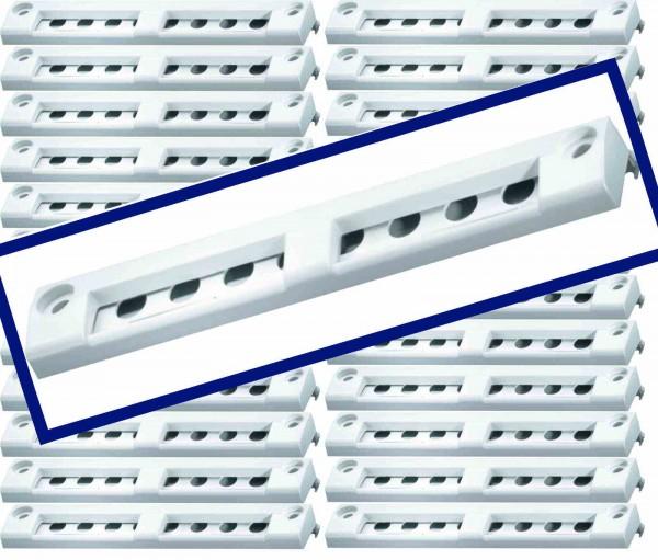 Siegenia 25x Aeromat Mini Standard Fensterfalzlüfter - weiß - für alle Fenster