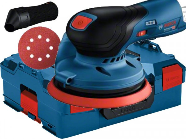 Bosch Akku-Exzenterschleifer GEX 12V-125 - L-BOXX - 12V - 125mm