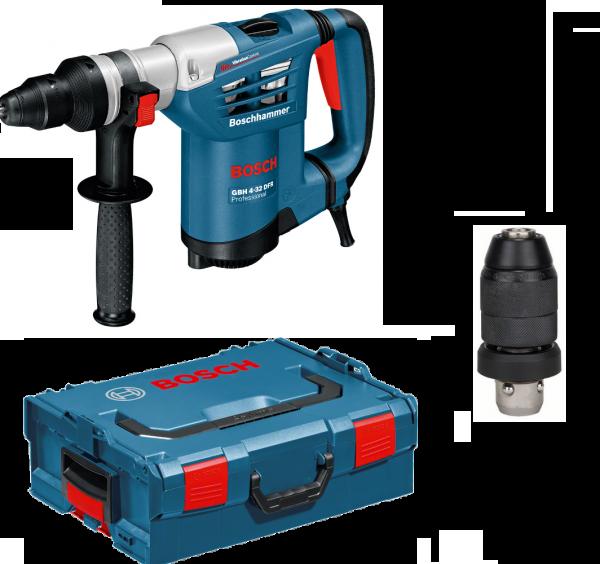 Bosch GBH 4-32 DFR Professional Multihammer - SDS-plus mit Zubehör
