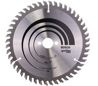 Bosch Kreissägeblatt Optiline Wood - 160x20x2,6mm - 48 Zähne