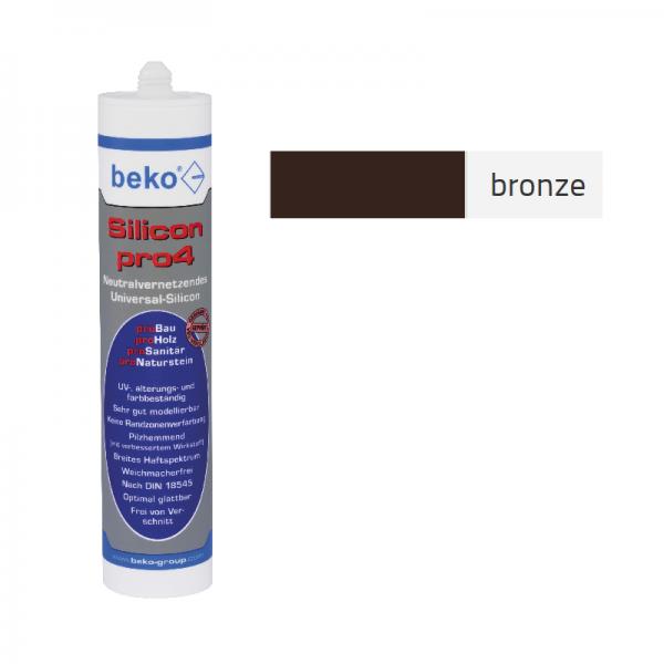 Beko pro4 Premium-Silicon 310ml - bronze