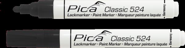 Pica Classic - Industrie Lackmarker - schwarz - 524/46