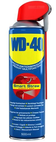 1 x WD-40 Vielzweck-Spray 500 ml Smart-Straw