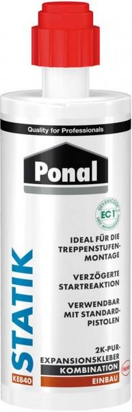 Ponal Statik 2K Expansionskleber Kleber - für Treppenstufen - 165gr