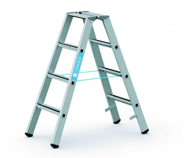 ZARGES Stehleiter Saferstep B - 41304 - 4 Sprossen - Leiterhöhe 1,06 Meter