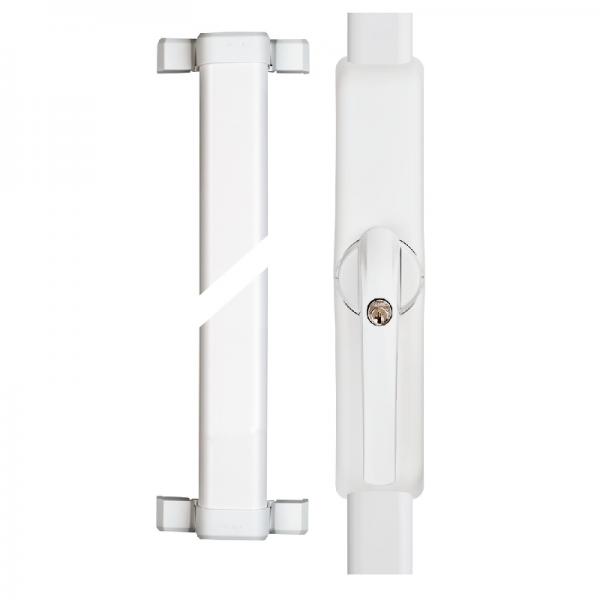 ABUS Funk-Fensterantrieb FSA 3550W Weiß 1x FOS550 mit 0,75/0,75m Stangenset