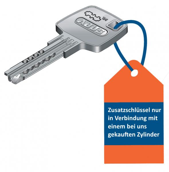 ABUS EC660 / EC550 Zusatzschlüssel/Mehrschlüssel passend für unsere Zylinder