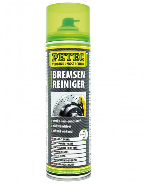 Petec 70060 Bremsenreiniger - 500ml Dose - acetonfrei - wirkt schnell