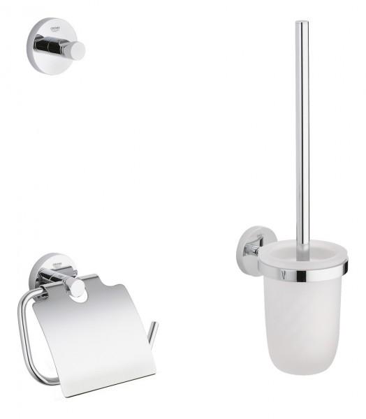 GROHE WC-Set Essentials - 40407 - WC Garnitur - 3-teilig - chrom