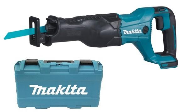 Makita Akku-Reciprosäge - DJR186ZK - 18V - im Koffer - ohne Akku/Ladegerät