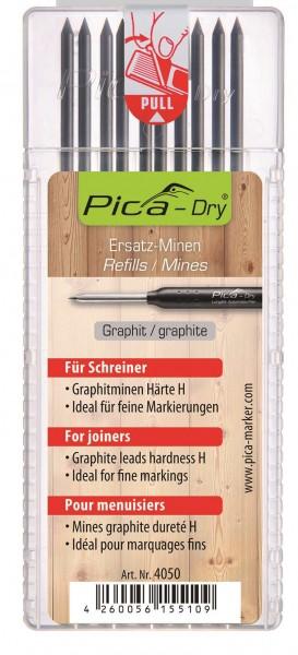 Pica-Dry - Ersatz-Minen - Graphit - Schreiner - 4050