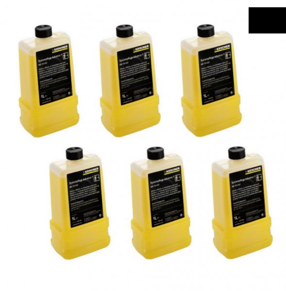 6 x Kärcher Systempflege Advance Enthärter 1 RM 110 ASF 6x1L