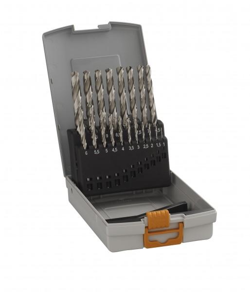HAWERA Bosch Metallspiralbohrer HSS-G Bohrersatz Set 1-10 mm - 19-teilig - geschliffen