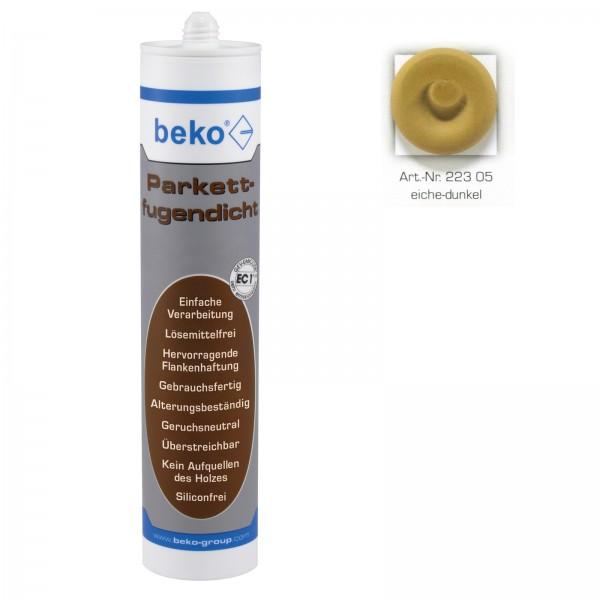 Beko Parkettfugendicht Eiche Dunkel 310 ml