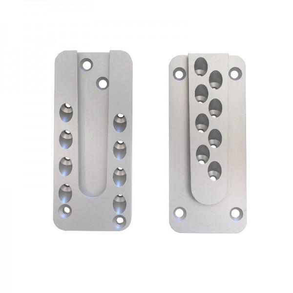 Pitzl Verbinder HVP 88214.0000 - für 24 Schrauben aus eloxiertem Aluminium