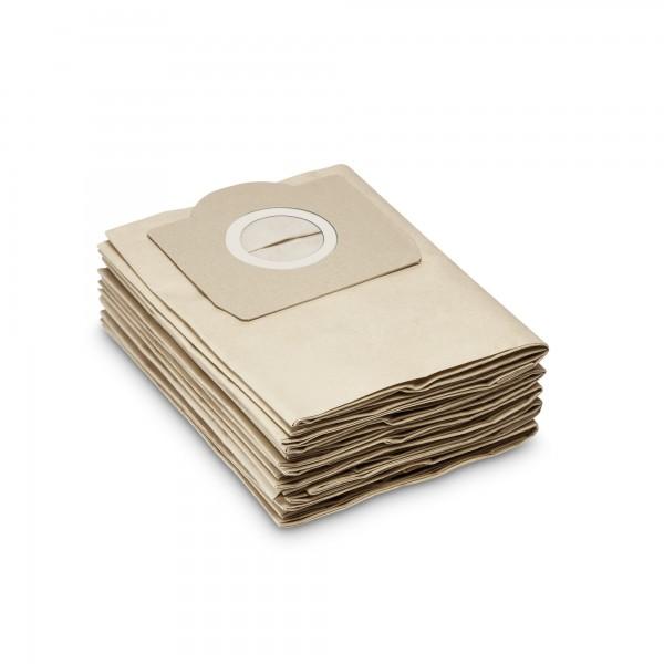 Kärcher Papierfiltertüten - 2-lagig - 5 Stück - für WD3 und viele mehr