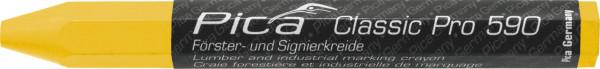 Pica Förster- und Signierkreide - Classic PRO 590 - gelb - 590/44