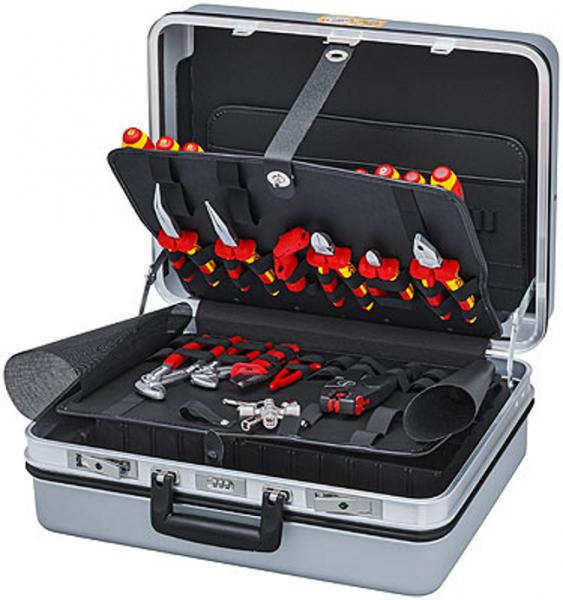 Knipex 00 21 30 Werkzeugkoffer Elektro - 23-teilig - bestückt - 9,4kg