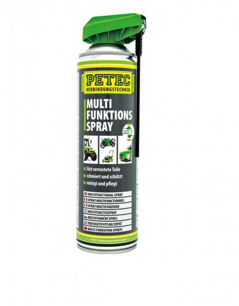 Petec 71250 Multifunktions-Spray - 500ml Dose - 360 Grad Sprühkopf