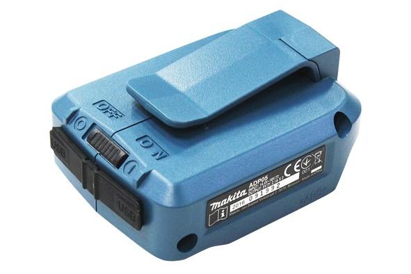Makita Akku-USB Adapter - DEBADP05 - für 14,4V / 18V Akkus