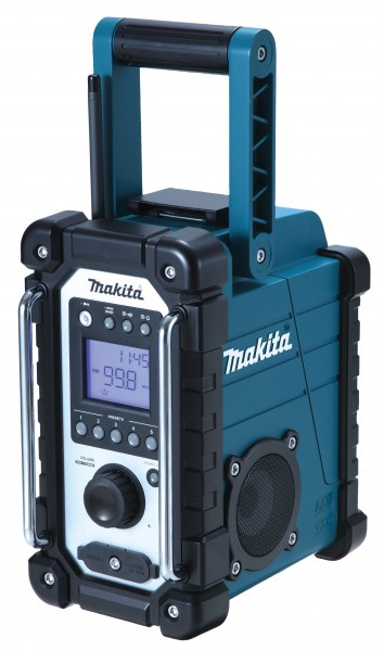 Makita Akku Baustellenradio - DMR107 - Spritzschutz 7,2-18 V + Netzteil