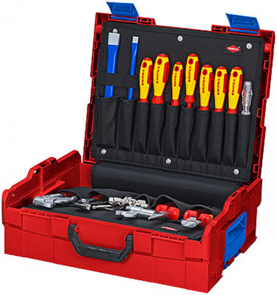 Knipex L-BOXX® Sanitär 00 21 19 LB S - 9,4kg - 52-teilig - bestückt