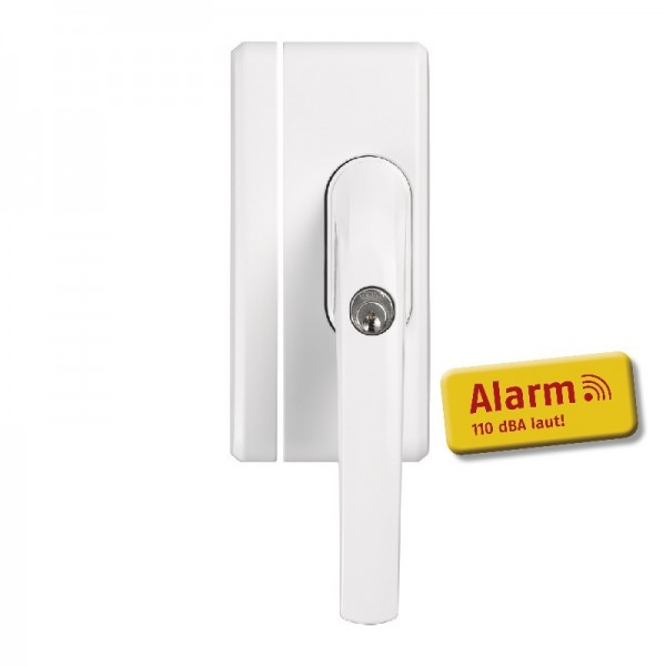 ABUS Fensterschloss FO 400A W mit Alarm AL0125 - weiß