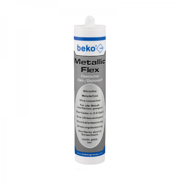 Beko Metallic-Flex 305 g metallic silber