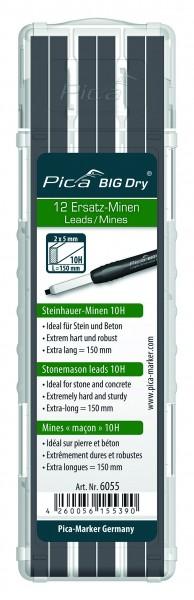 Pica BIG Dry - Zimmermanns-Minen 2H - 6050