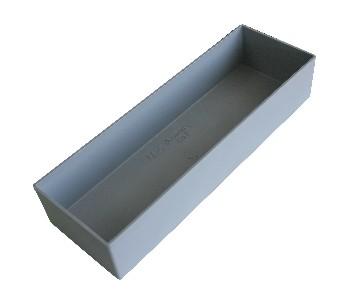 HM Müllner Wechselbox - B108 x T324 x H63 - grau